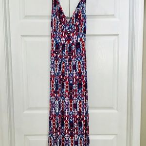 Colorful Maxi Dress by Loveappella Size Small